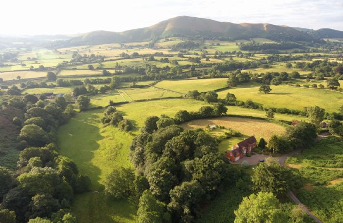 The South Shropshire hills