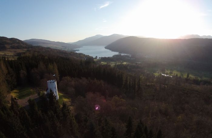 Only 10 minutes' drive from The White Tower is Loch Tay