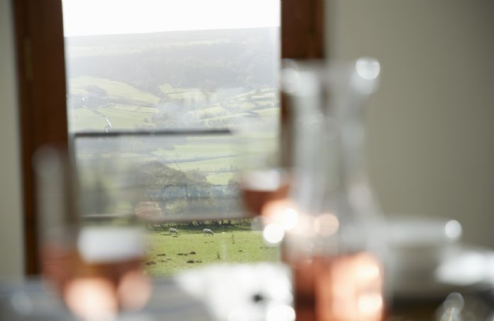 Enjoy family meals with wonderful views over the Esk Valley
