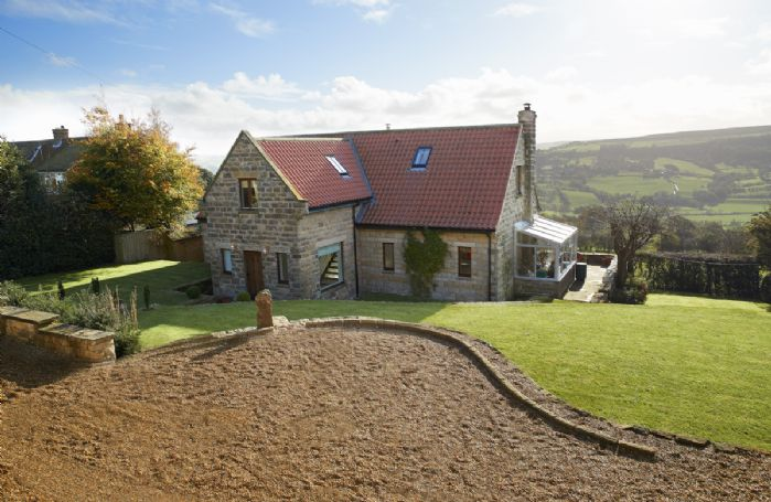 RedRoofs in Aislaby boasts beautiful far-reaching views over the Esk Valley