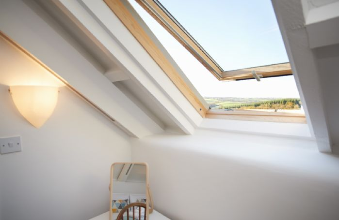 Stunning views can be seen from many aspects of Green Knowe Cottage