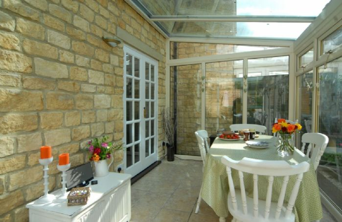 Ground floor: Dining conservatory