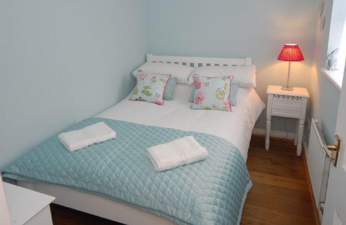 First floor: Third bedroom with 4' small double bed