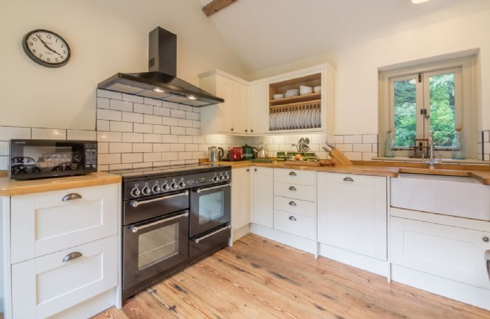 Ground floor: Kitchen area featuring a Rangemaster gas cooker
