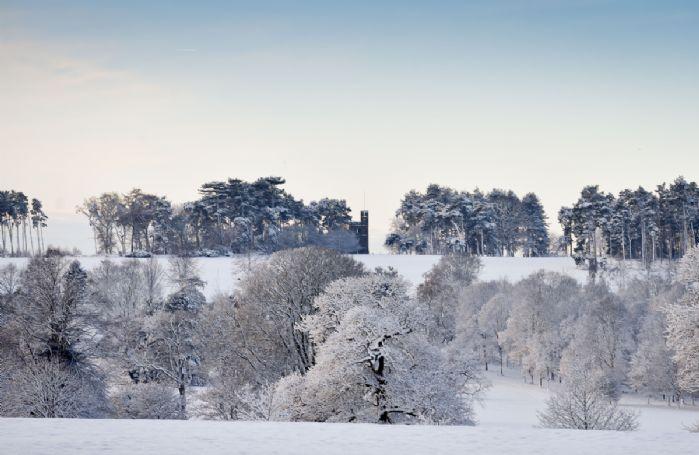 A snowy Knoll Tower