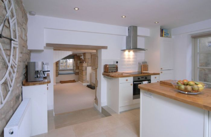 Ground Floor: a view from the Kitchen towards the dining area