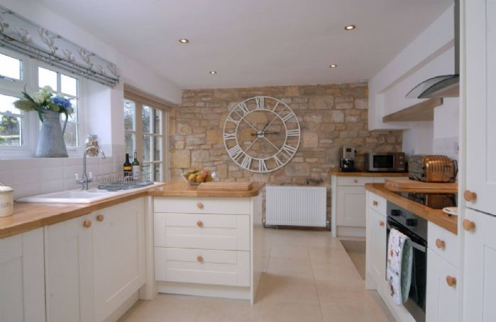 Ground Floor: the fully-fitted Kitchen