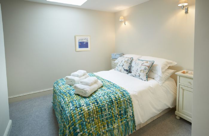 First floor: Fourth bedroom with small double bed
