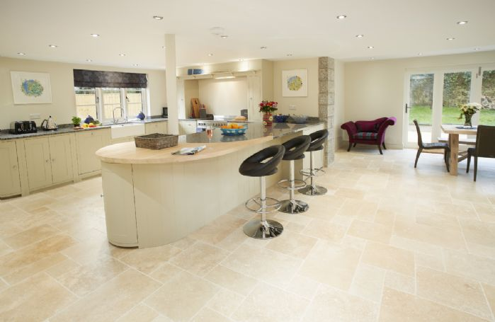 Ground floor: Spacious Neptune kitchen/dining area with panoramic bi-fold doors