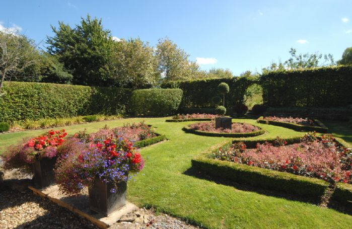 Traditional knot garden