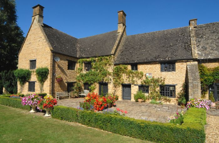 Stourton Manor is set amidst two acres of lush gardens