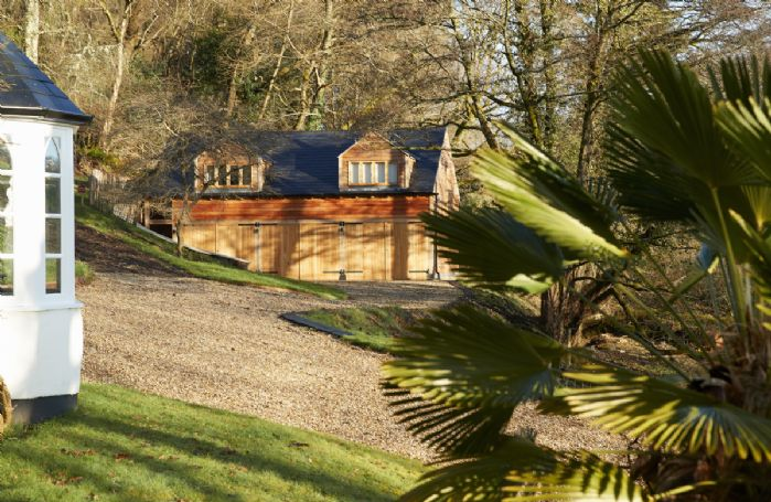 Behind the main house is Littlepool, a first floor annex sleeping two guests