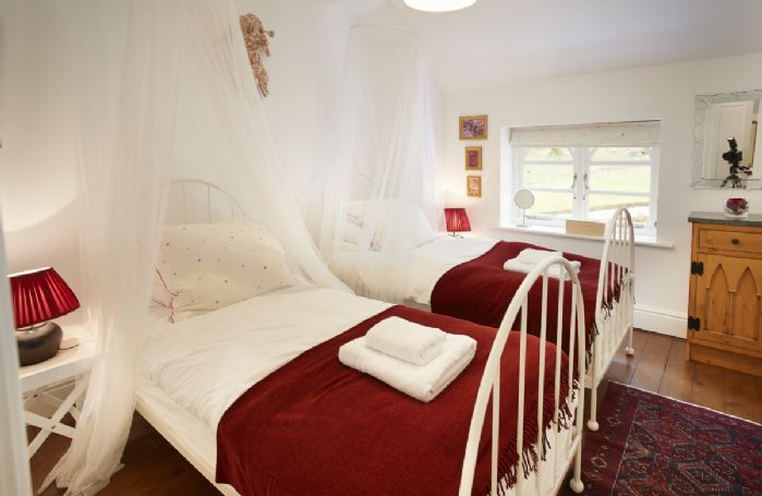 First floor: Holly bedroom with two single beds