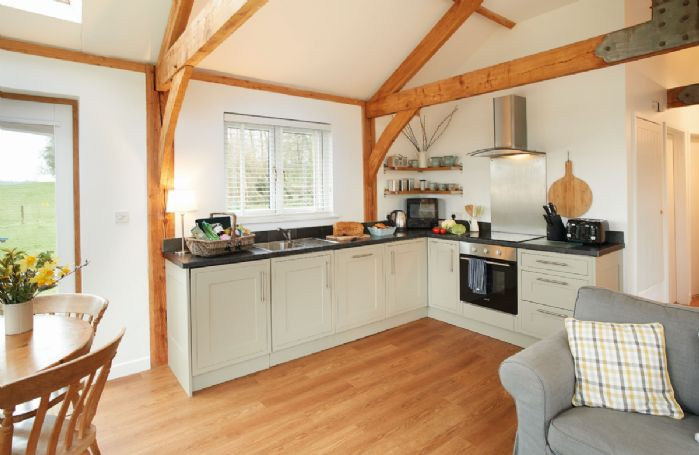 Ground floor: Open plan kitchen