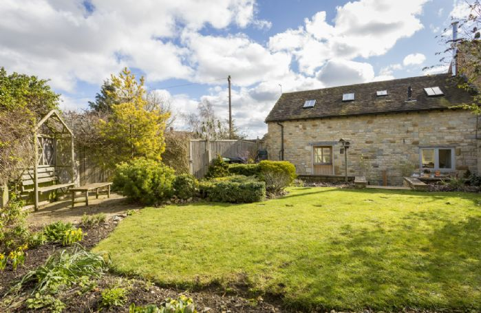 Pound Cottage has a delightful enclosed garden