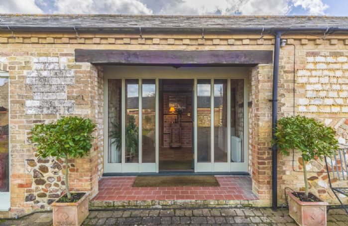 The Old Foundry is a single storey brick and chalk detached house