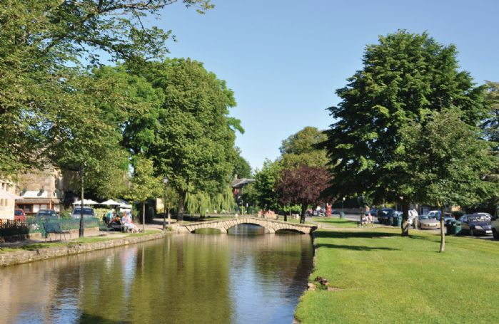 Bourton-on-the-Water is known as 'The Venice of the Cotswolds'