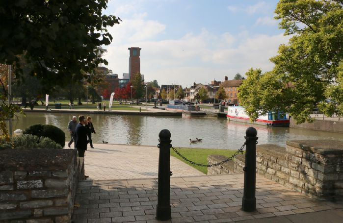 Stratford-upon-Avon with its links to William Shakespeare is 20 minutes from the property