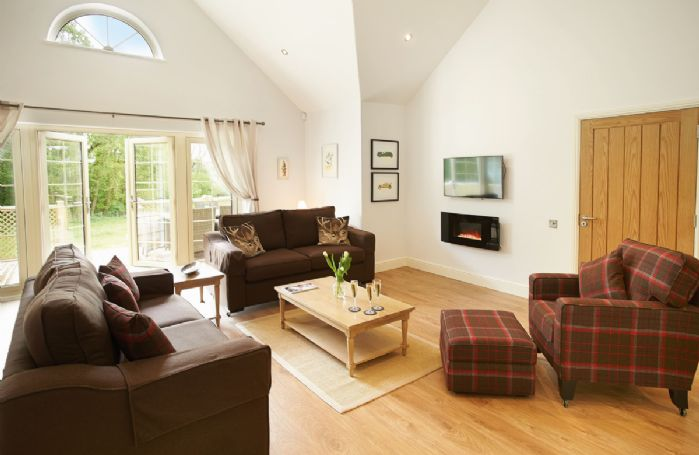 Ground floor: Open plan sitting area