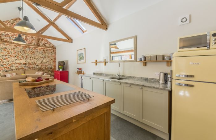 Ground floor:  Spacious, open plan kitchen/sitting and dining area