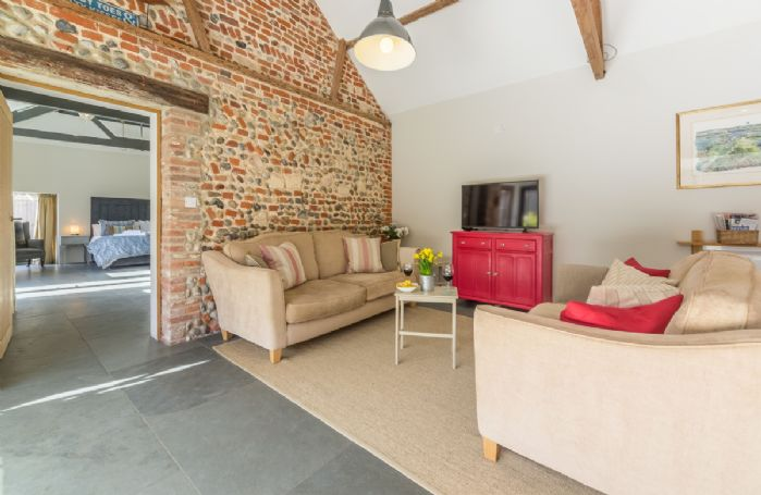 Ground floor:  Spacious, open plan kitchen/sitting and dining area.