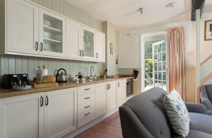 Ground floor: Galley style kitchen