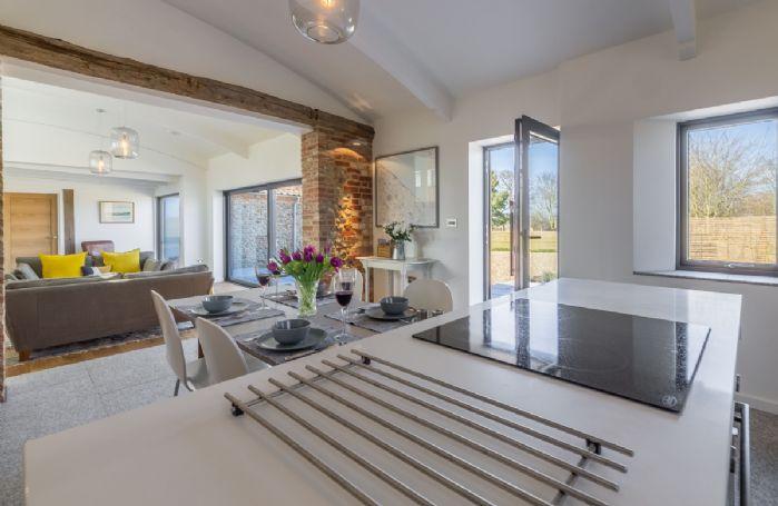 Ground floor: Open plan living space