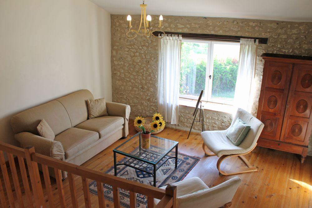 First floor living room..