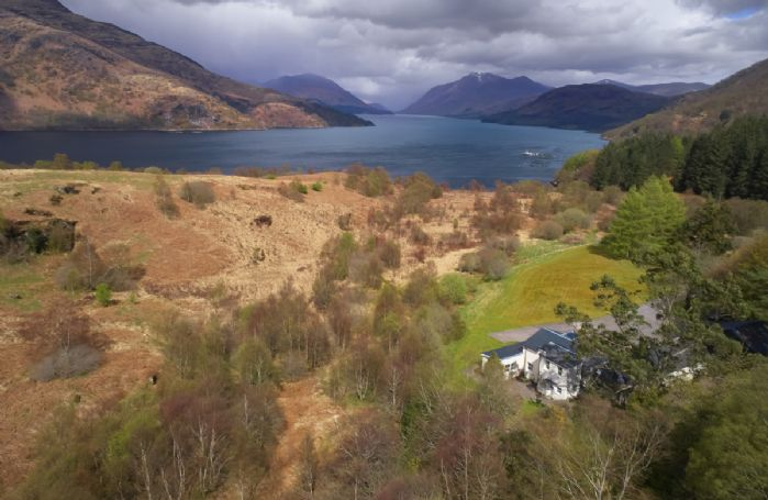 Set within the most idyllic setting is Port-na-Mine, a very special property with breath-taking views of Loch Etive