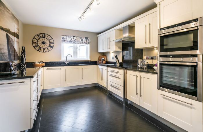 Ground floor: Luxuriously appointed kitchen
