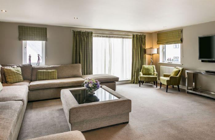 First floor: Open plan modern living room