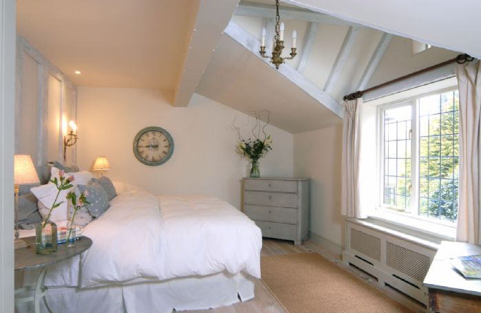 Ground floor: Master bedroom with super king size bed and en-suite shower room