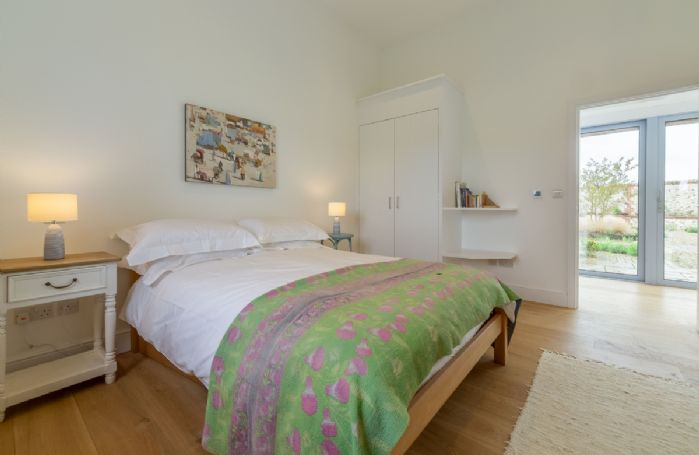 Ground Floor:  Bedroom Two with double bed