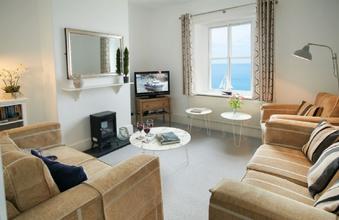 Ground floor: Sitting room with sea views