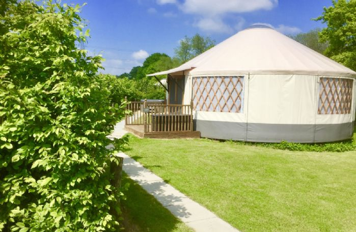 Situated on peaceful farmland, Oak Yurt offers something very different from the usual glamping experience