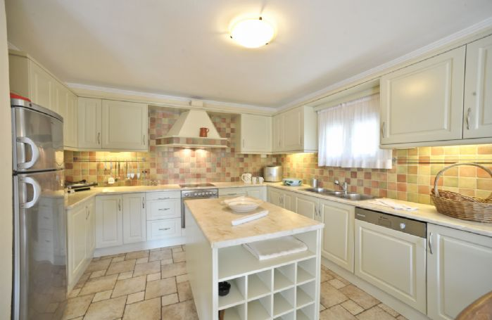 Ground floor: Beautifully fitted open plan kitchen and dining room