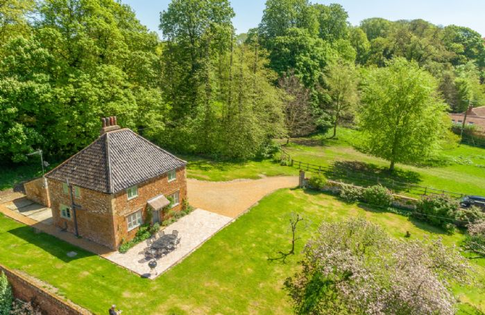 Explore the  beautiful grounds around this cottage