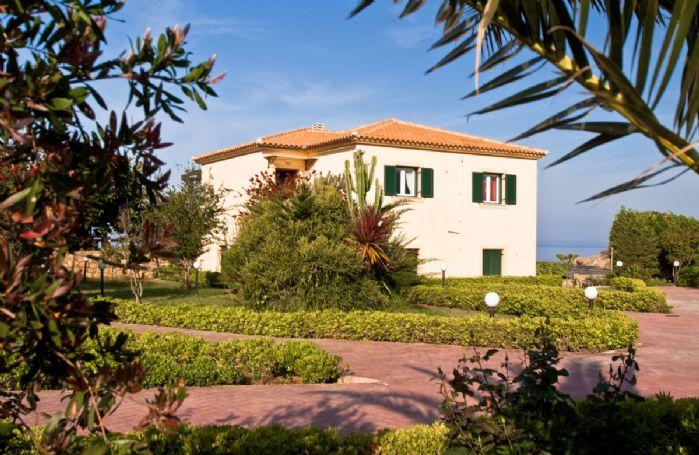 Attractive grounds surround the villa