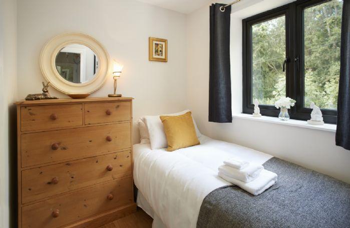 First floor:  Single bedroom.