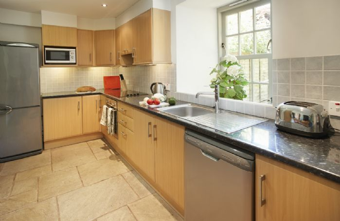 Ground floor: Fully fitted kitchen.