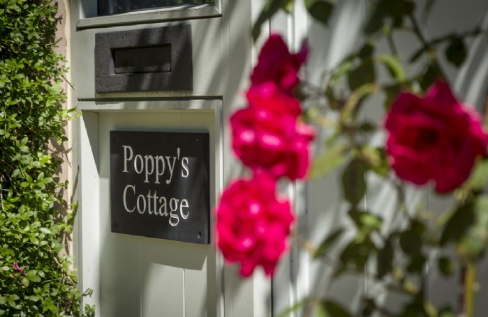Front door to Poppy's Cottage