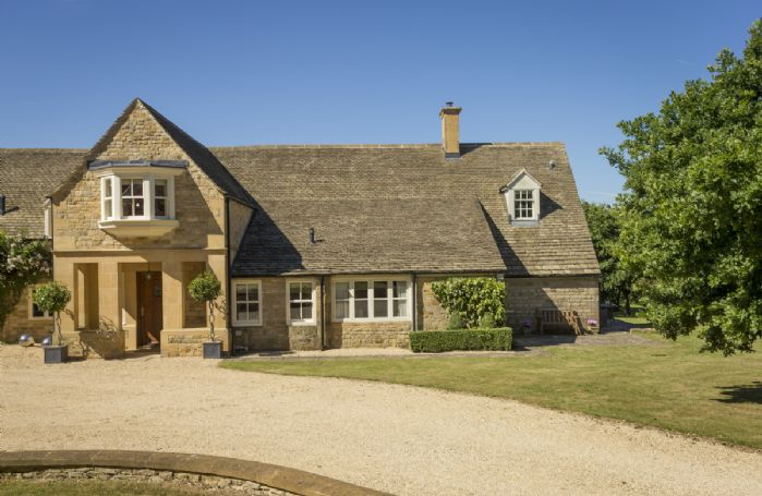 Highlands Cottage is a recently refurbished annex attached to the main house