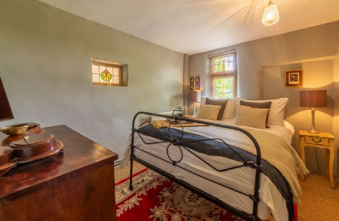 First floor: Bedroom with double bed