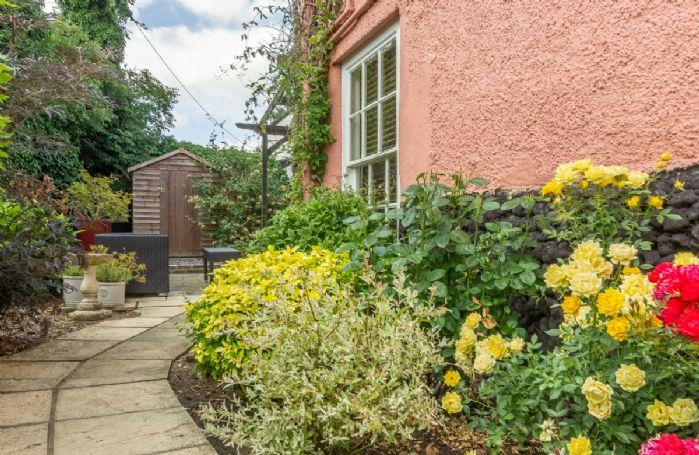 Private enclosed garden