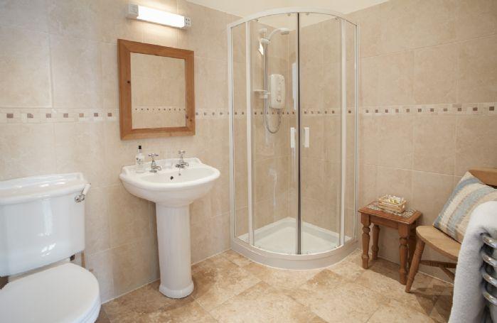 Ground floor:  Ensuite shower room