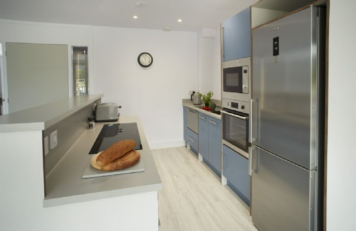 Ground floor:  Contemporary fitted kitchen