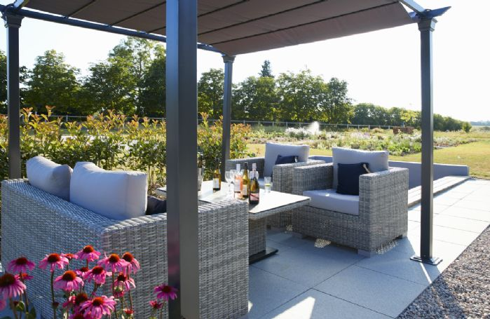 A beautiful place to relax with a glass of wine