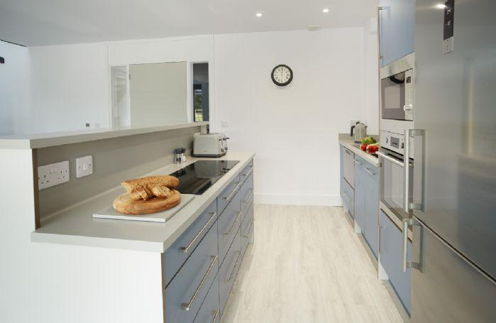 Ground floor:  Contemporary open plan kitchen