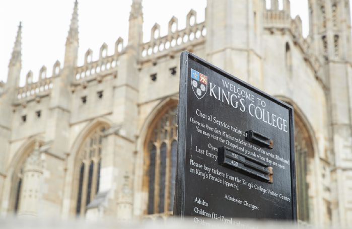Visit Kings College at Cambridge