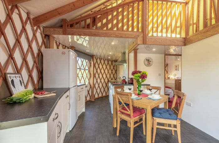Ground floor: Fully equipped kitchen area